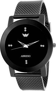 Abrexo Abx0133-Grey Ladies Exclusive Smoky grey Design Watch  - For Women
