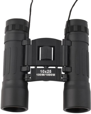 Maxed Compact Folding Binoculars(15 mm, Black)
