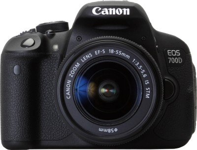 Canon EOS 700D (Body only) DSLR Camera(Black)