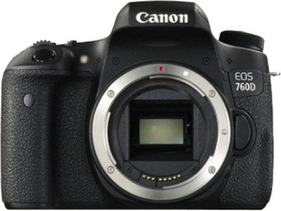 Canon EOS 760D DSLR Camera (Body only)(Black)