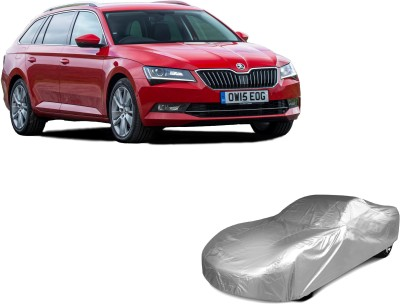 Auto Track Car Cover For Skoda Superb (Without Mirror Pockets)(Silver)