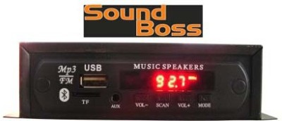Sound Boss SB-108 BT Car Stereo(Single Din)
