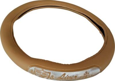 Retina Steering Cover For Honda Mobilio(Beige, Leatherite)