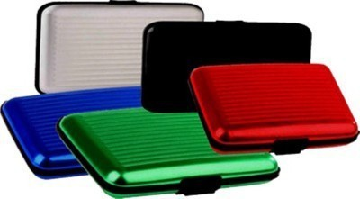 Tady Italio 6 Card Holder(Set of 5, Multicolor)