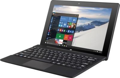 Reach Atom Quad Core 5th Gen - (2 GB/32 GB EMMC Storage/DOS) RCN-022 2 in 1 Laptop(10.1 inch, Black, 0.995 kg)