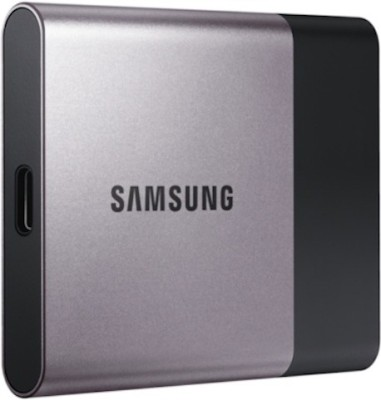 Samsung T3 500 GB External Solid State Drive(Grey)