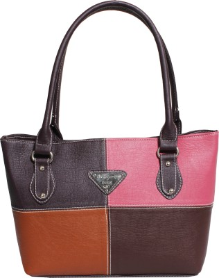 Veins Hand-held Bag(Multicolor)