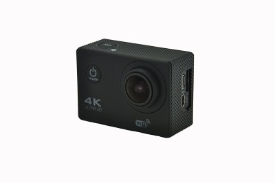 Shrih 16 Megapixels 4K Ultra HD Video Recording Sports and Action Camera(Black 16 MP)