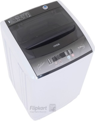 Onida 5.8 kg Fully Automatic Top Load Washing Machine Grey(WO60TSPLN1)