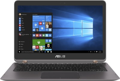 Asus Zenbook Flip Series Core i7 7th Gen - (8 GB/512 GB SSD/Windows 10 Home) UX360UAK-DQ210T Thin and Light Laptop(13.3 inch, Grey, 1.27 kg)