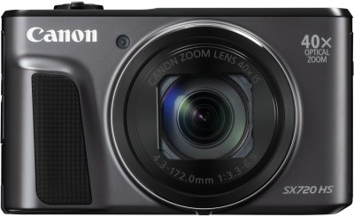 Canon PowerShot SX720 HS Point and Shoot Camera(Black 20.3 MP)