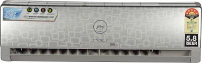 Godrej 1 Ton Inverter Split AC  - Silver(GSC 12 FIXH 7 GGPG, Aluminium Condenser)