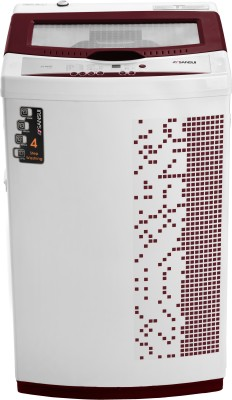 Sansui 6.5 kg Fully Automatic Top Load Washing Machine Maroon(ST65BS DMA)