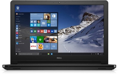 Dell Inspiron Core i3 5th Gen - (4 GB/500 GB HDD/Windows 10 Home) 5558 Laptop(15.6 inch, Black)