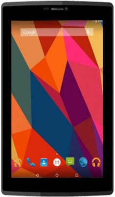 Micromax Canvas Tab P702 16 GB 7 inch with Wi-Fi+4G Tablet(Black)