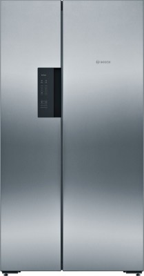 Bosch 659 L Frost Free Side by Side Refrigerator(Inox, KAN92VI35I)