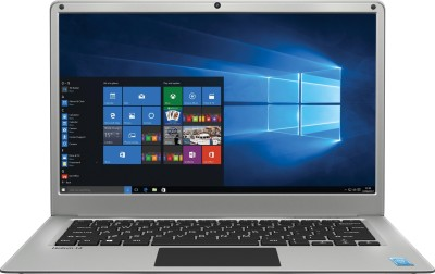 Lava Helium 14 Atom Quad Core - (2 GB/32 GB EMMC Storage/Windows 10 Home) C141 Thin and Light Laptop(14.1 inch, Silver, 1.45 kg)