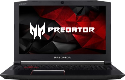 Acer Predator Helios 300 Core i7 7th Gen - (8 GB/1 TB HDD/128 GB SSD/Windows 10 Home/4 GB Graphics) G3-572 Gaming Laptop(15.6 inch, Black, 2.7 kg)