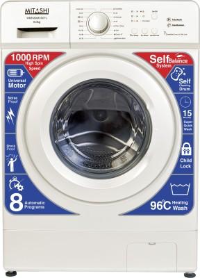 Mitashi 6 kg Fully Automatic Front Load Washing Machine White(WMFA600K100 FL)