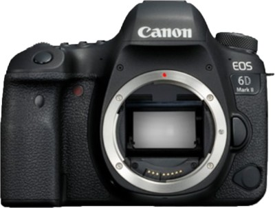 Canon EOS 6D Mark II DSLR Camera Body(Black)