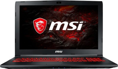 MSI GL Core i7 7th Gen - (8 GB/1 TB HDD/DOS/2 GB Graphics) GL62M 7RDX-1878XIN Gaming Laptop(15.6 inch, Black, 2.2 kg)