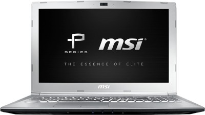 MSI P Series Core i7 7th Gen - (8 GB/1 TB HDD/128 GB SSD/DOS/4 GB Graphics) PE62 7RE-2024XIN Gaming Laptop(15.6 inch, SIlver, 2.2 kg)
