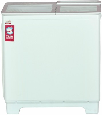 Godrej 8 kg Semi Automatic Top Load Washing Machine Pink, White(WS 800 PD)