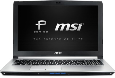 MSI P Core i7 7th Gen - (8 GB/1 TB HDD/DOS/2 GB Graphics) PL62 7RC Gaming Laptop(15.6 inch, SIlver Metal, 2 kg)