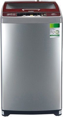 Haier 6.5 kg Fully Automatic Top Load Washing Machine Silver(HWM65-707NZP)