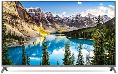 LG 123cm (49 inch) Ultra HD (4K) LED Smart TV(49UJ652T)