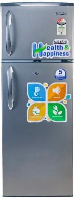 Mitashi 240 L Direct Cool Double Door Refrigerator(Grey, MiRFDDG240V15)