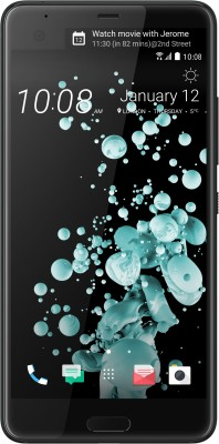 HTC U Ultra (Brilliant Black, 64 GB)(4 GB RAM)