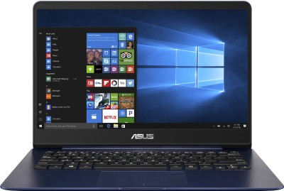 Asus UX430UQ Core i7 7th Gen - (8 GB/512 GB SSD/Windows 10 Home/2 GB Graphics) UX430UQ-GV151T Thin and Light Laptop(14 inch, Blue, 1.25 kg)