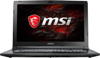 MSI GL Core i7 7th Gen - (8 GB/1 TB HDD/DOS/4 GB Graphics) GL62M 7RDX Gaming Laptop(15.6 inch, Black, 2.2 kg)