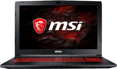 MSI GL Core i7 7th Gen - (8 GB/1 TB HDD/DOS/2 GB Graphics) GL62M 7RC Gaming Laptop(15.6 inch, Black, 2.2 kg)