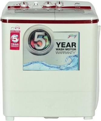 Godrej 6.2 kg Semi Automatic Top Load Washing Machine Red(GWS 6204 PPD)
