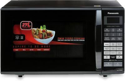 Panasonic 27 L Convection Microwave Oven(NN-CT645BFDG, Black)