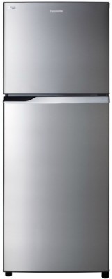 Panasonic 296 L Frost Free Double Door Top Mount 2 Star Refrigerator(Stainless Steel, NR-BL307PSX1/PSX2)