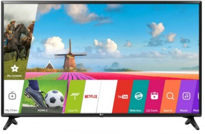 LG 138cm (55 inch) Full HD LED Smart TV(55LJ550T)