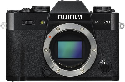 Fujifilm X-T20 Black Mirrorless Camera Body Only(Black)