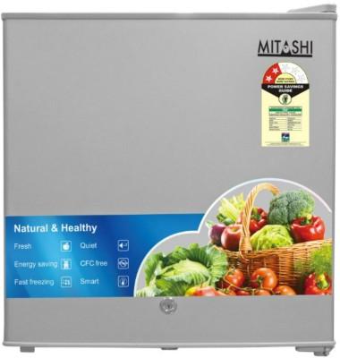 Mitashi 46 L Direct Cool Single Door Refrigerator(Silver, MSD050RF100)