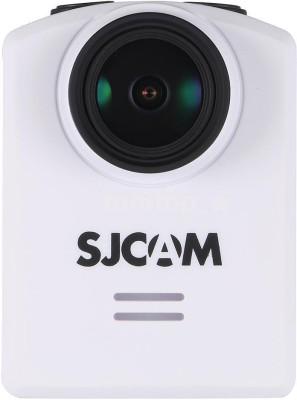 SJCAM SJ M20 16MP 4K 2304*1296p 30fps Gyro Stabilization WiFi Waterproof DVR Mini Camcorder & Sports & Action Camera Sports and Action Camera(White 16 MP)