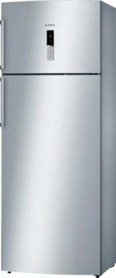 Bosch 404 L Frost Free Double Door Top Mount Refrigerator(Stainless Steel, KDN46XI30I)