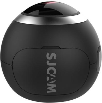 SJCAM SJ360 Wifi 2018 BLACK SJ360 Panorama 2K Wi-Fi Mini Sports Action Camera Sports & Action Camera(Black)