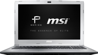 MSI PL Series Core i5 7th Gen - (8 GB/1 TB HDD/DOS/2 GB Graphics) PL62 7RC-270XIN Laptop(15.6 inch, SIlver, 2.2 kg)