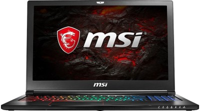 MSI GS Series Core i7 7th Gen - (8 GB/1 TB HDD/Windows 10 Home/2 GB Graphics) GS63 7RD-215IN Laptop(15.6 inch, Black, 1.8 kg)