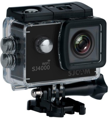 SJCAM SJ4000 WIFI 12MP Wi-Fi Action Camera Sports & Action Camera(Black)