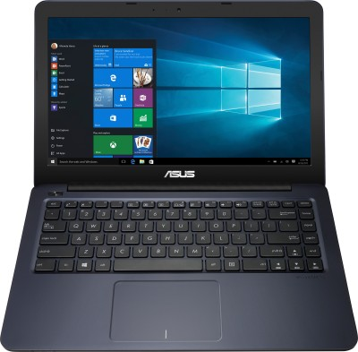Asus EeeBook APU Quad Core E2 - (4 GB/500 GB HDD/Windows 10 Home) E402WA-GA001T Laptop(14 inch, Blue, 1.65 kg)