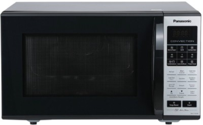 Panasonic 27 L Convection Microwave Oven(NN-CT65HBFDG, Black Mirror)