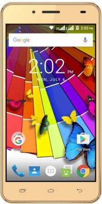Ziox Quiq Wonder 4G (Gold, 8 GB)(512 MB RAM)